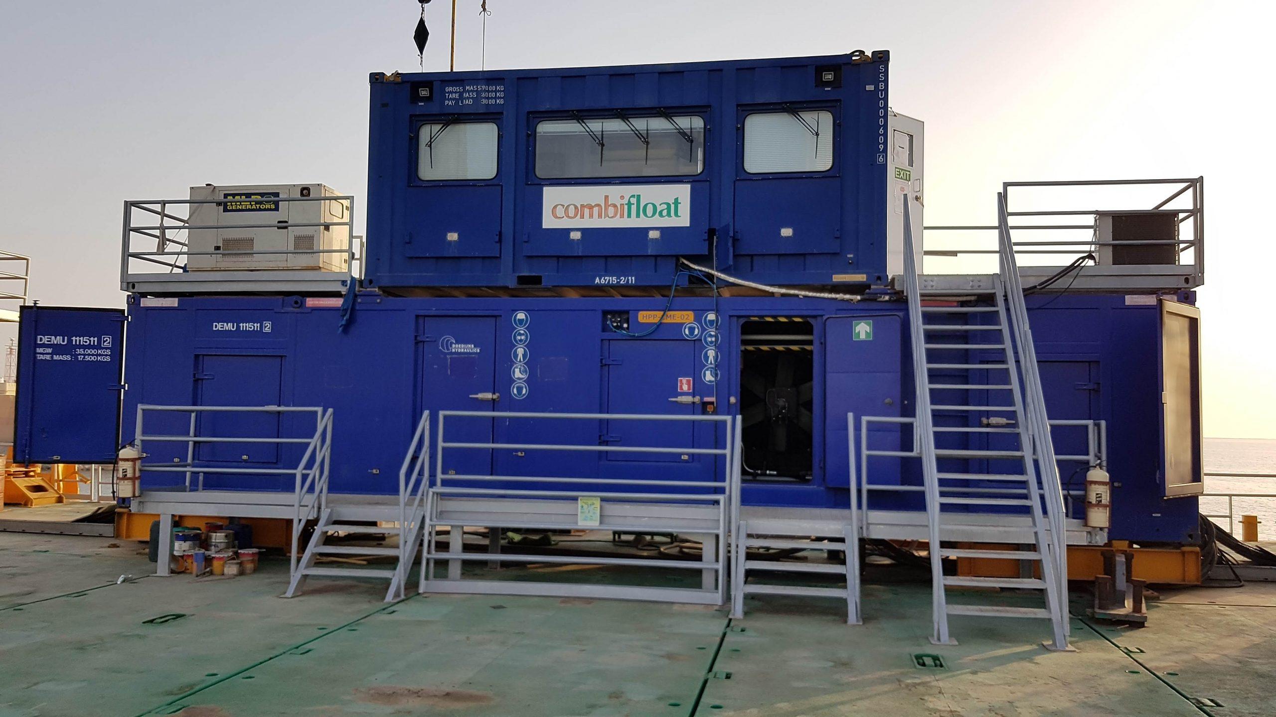 Control cabin Combifloat C9