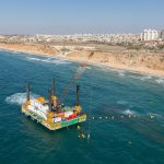modular cable lay barge israel shore protection project