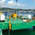assembly modular jack up barge c5 combifloat self elevating platform