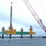 assembly modular jack up barge spud leg