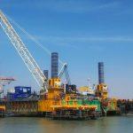 modular jack up barge self elevating platform iraq