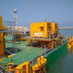 modular jack up barge, generator view