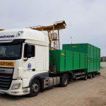Combifloat C5 Loading on truck