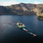 combifloat modular cable lay barge nexans
