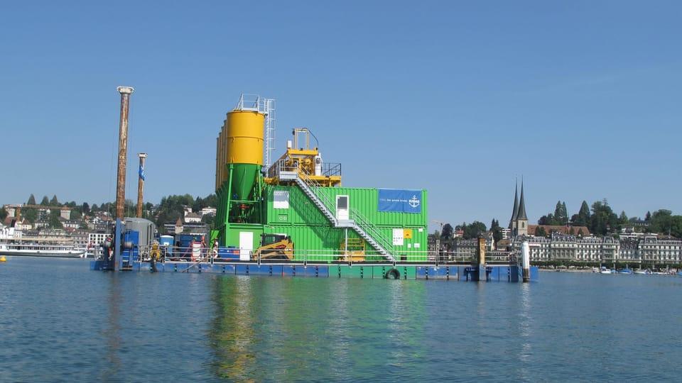 Combifloat C3 platform Switzerland