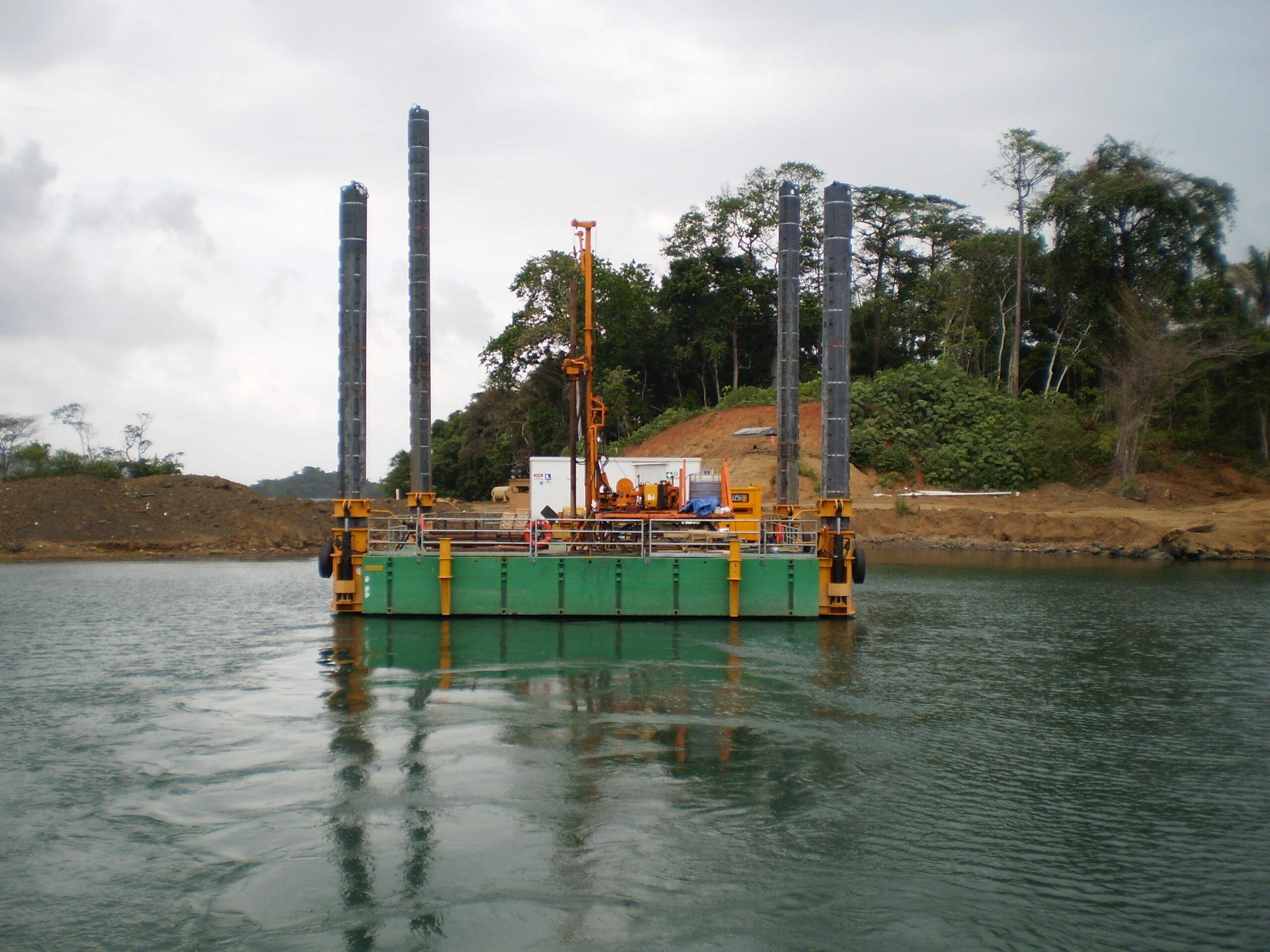 geotechnical modular self elevating platform