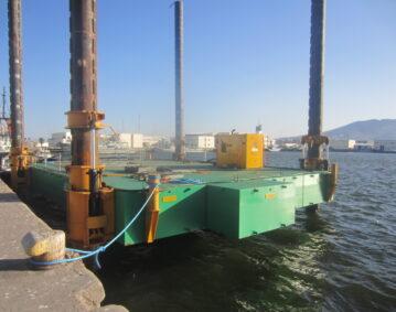 Combifloat C5 modular jack up barge self elevating platform Marocco