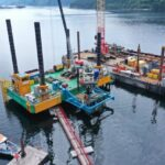pile driving jetty defence infrastructure organization